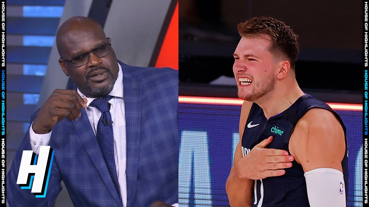 Shaq Not Impressed With Luka Doncic GAME-WINNER vs Clippers – Game 4 | August 23, 2020 NBA Playoffs