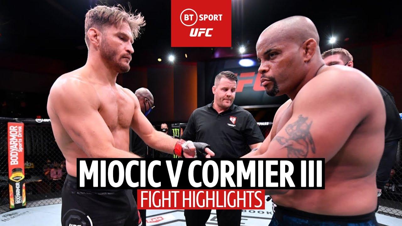 Stipe Miocic v Daniel Cormier 3 | #UFC252 Highlights