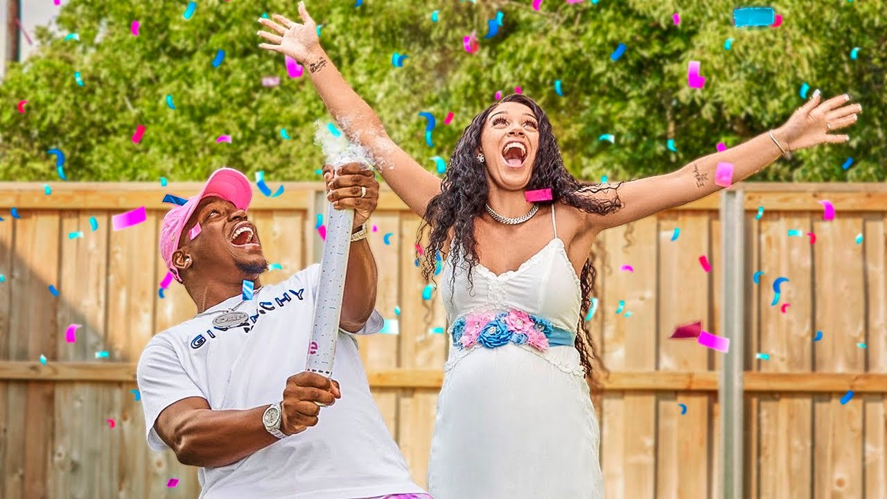 THE PRINCE FAMILY OFFICIAL BABY GENDER REVEAL!!