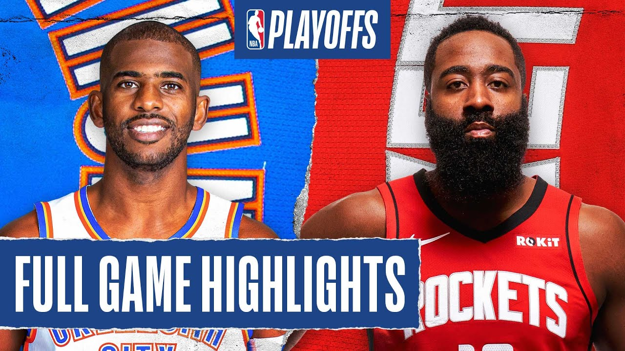 THUNDER at ROCKETS | FULL GAME HIGHLIGHTS | August 18, 2020