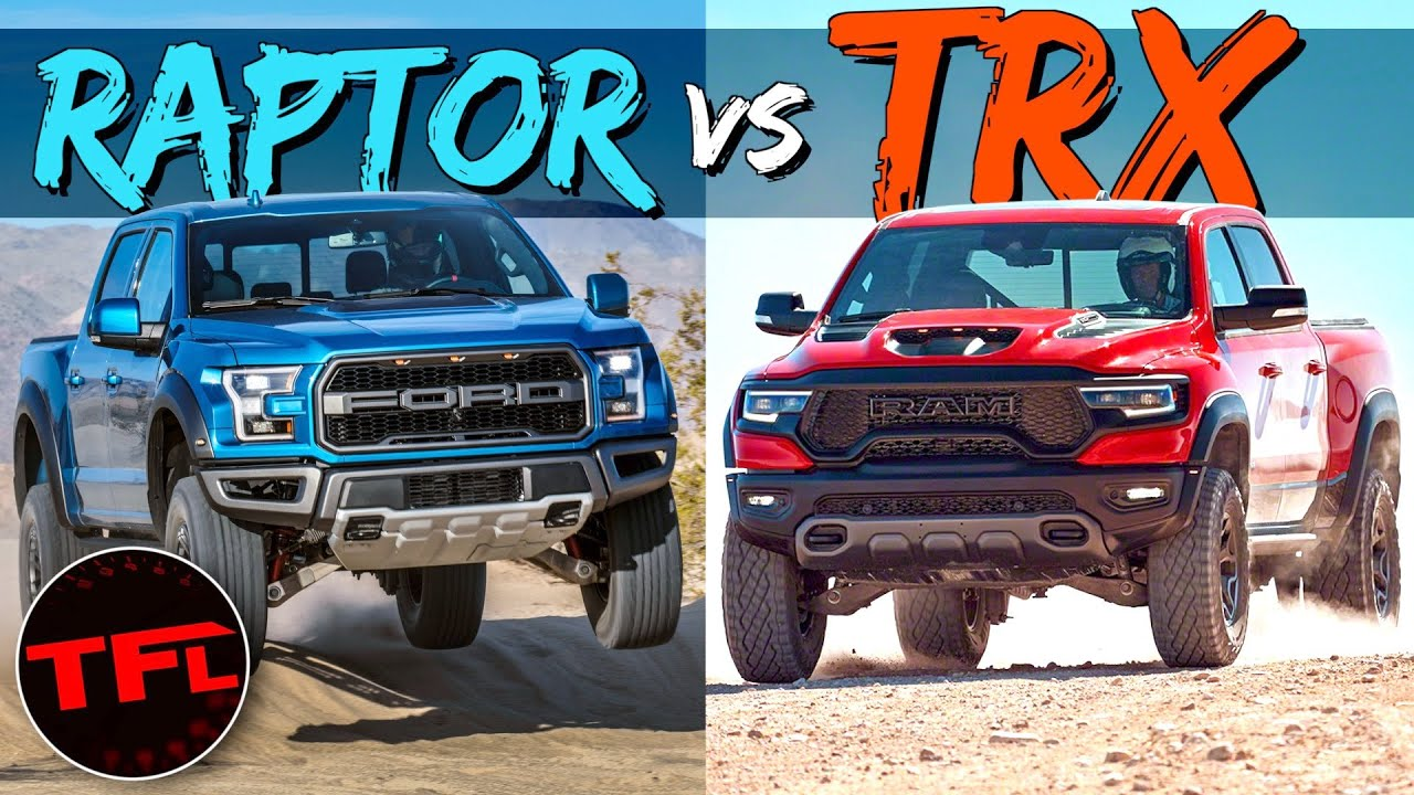 The 2021 Ram TRX Is Going To Kick The Ford Raptor's BUTT — No, You're Wrong!
