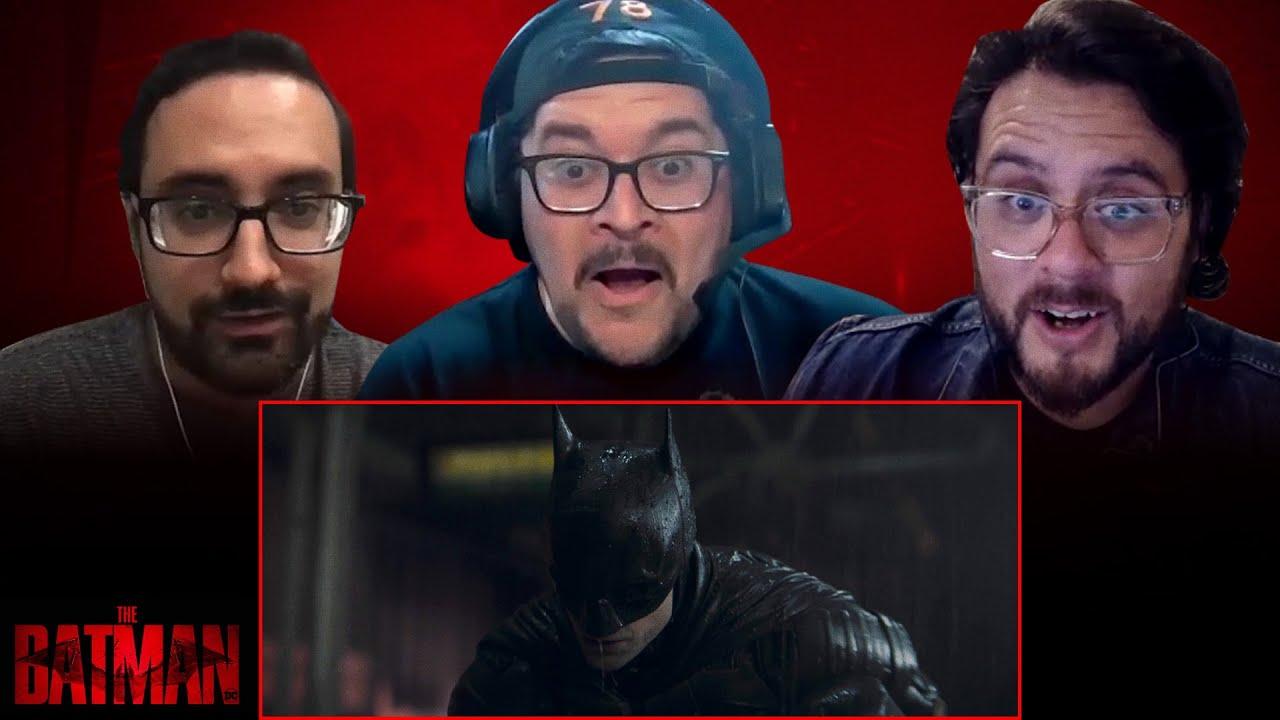 The Batman | DC Fandome Teaser Reaction