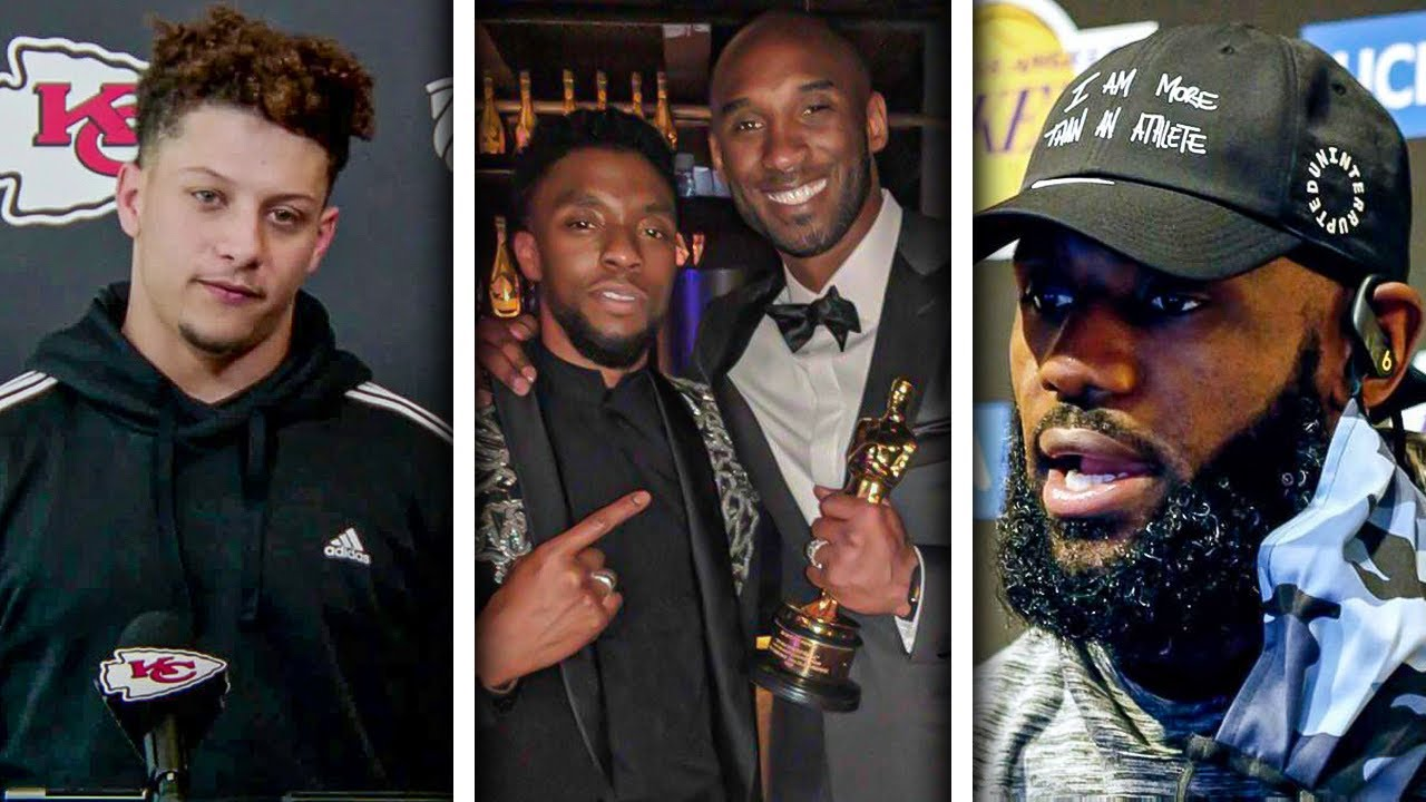 The Sports World REACTS to the Sad Passing of Chadwick Boseman…RIP! #WakandaForever