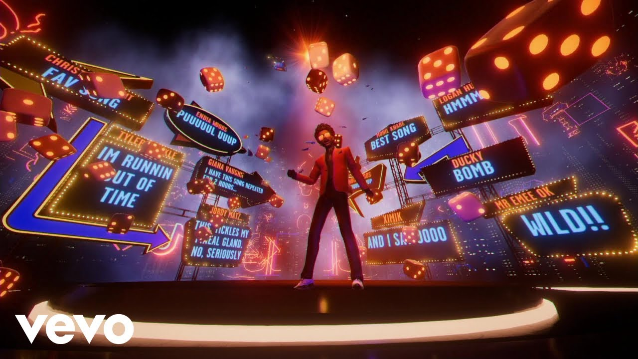 The Weeknd Experience – Blinding Lights (Animated Video)