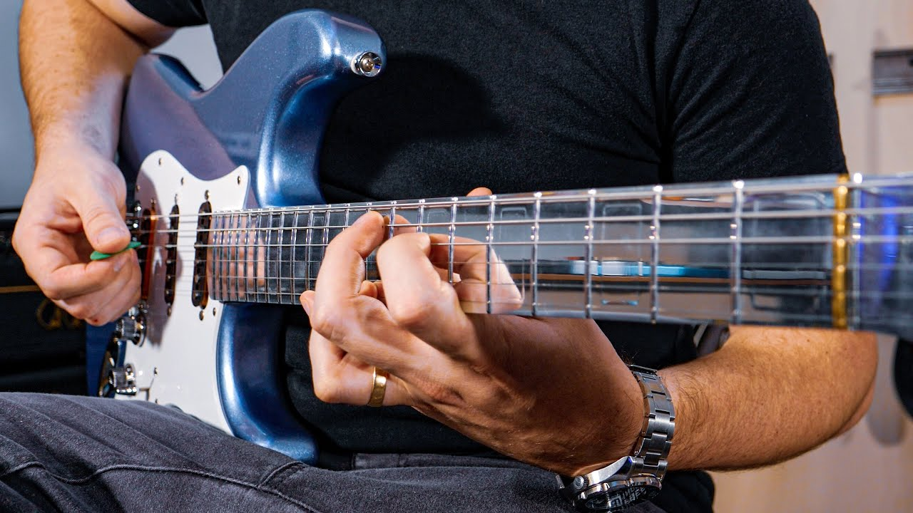 This Guitar Neck is 100% Aluminum and it SOUNDS CRAZY