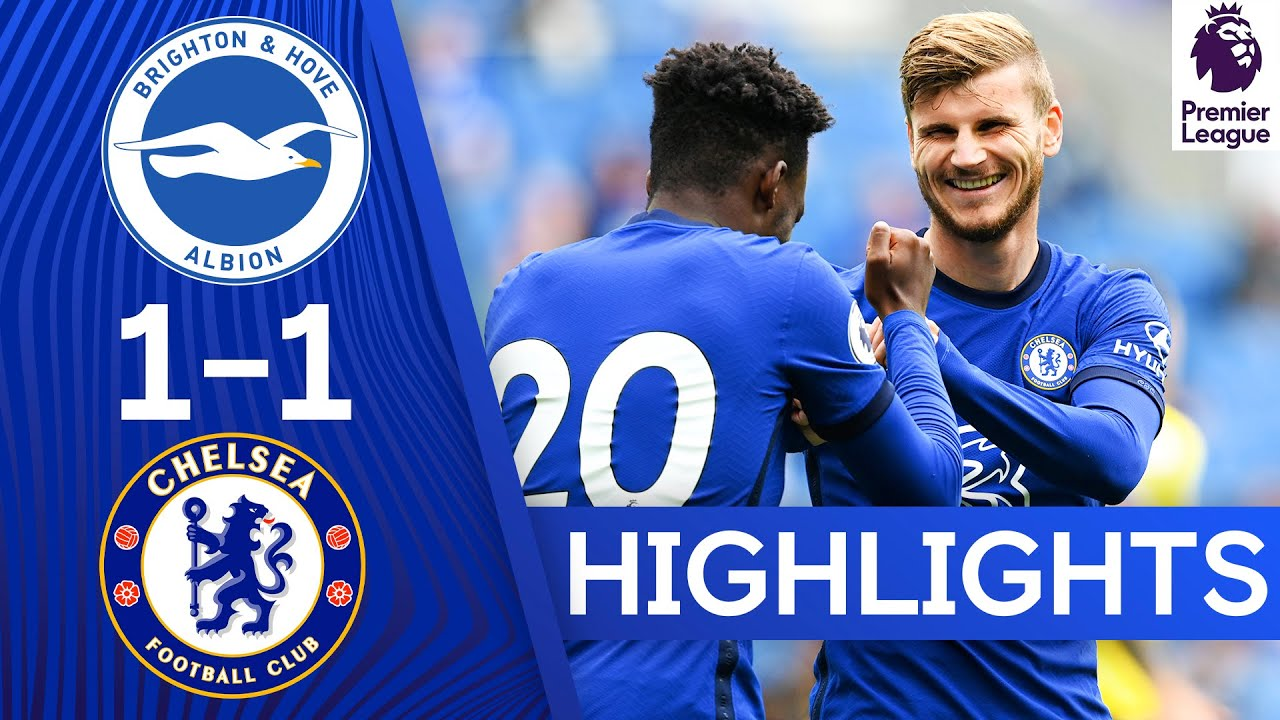 Timo Werner's first Chelsea goal | Brighton 1-1 Chelsea | Match Highlights & Frank Lampard interview