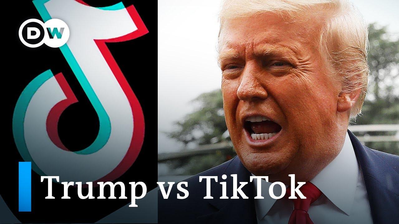 Trump says he'll ban China's TikTok video app in US | DW News