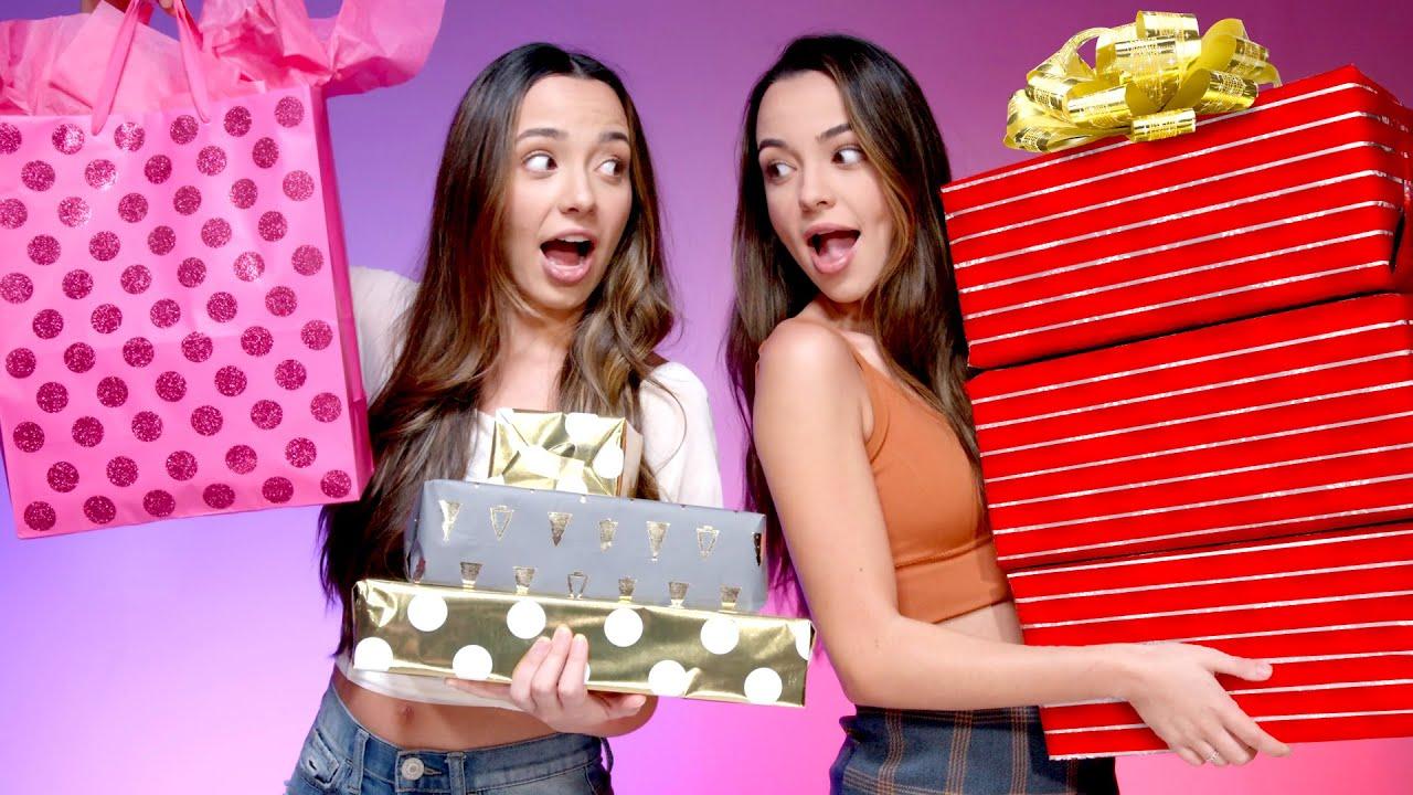 Twins Swap Birthday Gift Exchange – Merrell Twins
