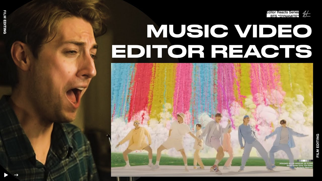 Video Editor Reacts to BTS 'Dynamite' Official MV