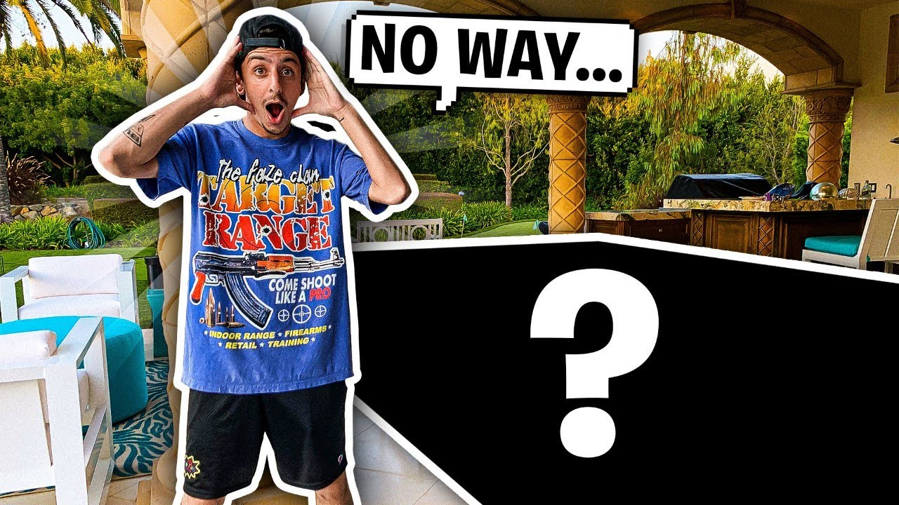 WE SURPRISED FAZE RUG WITH THIS …