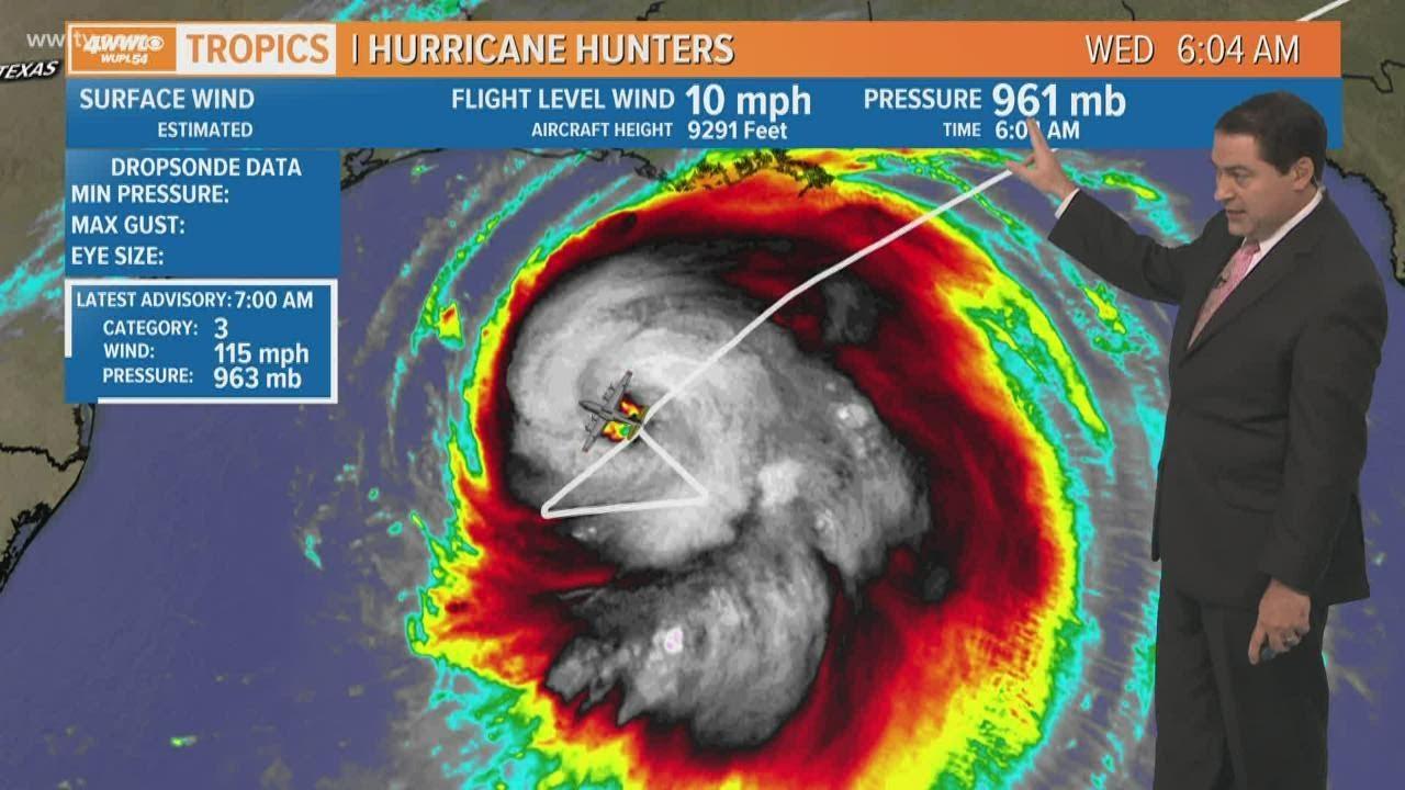 Wednesday 7am update: Major Hurricane Laura heads for Louisiana-Texas border