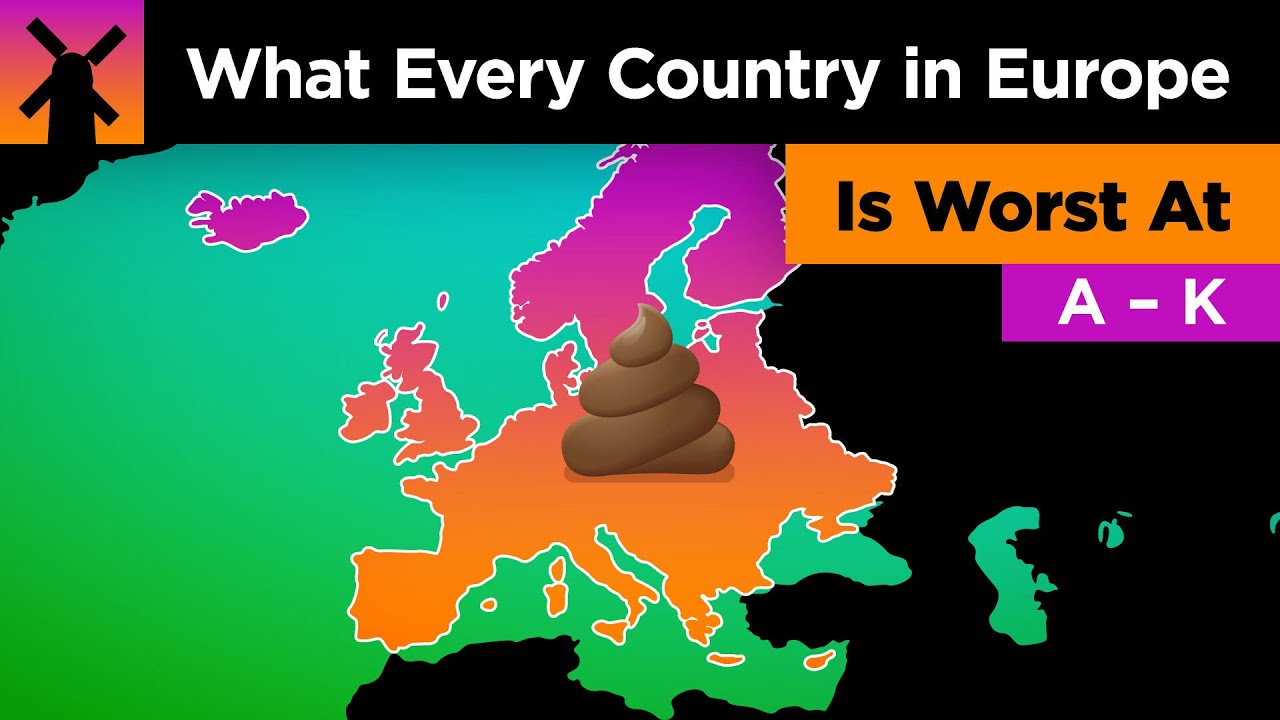 What Every Country in Europe Is WORST At Part 1