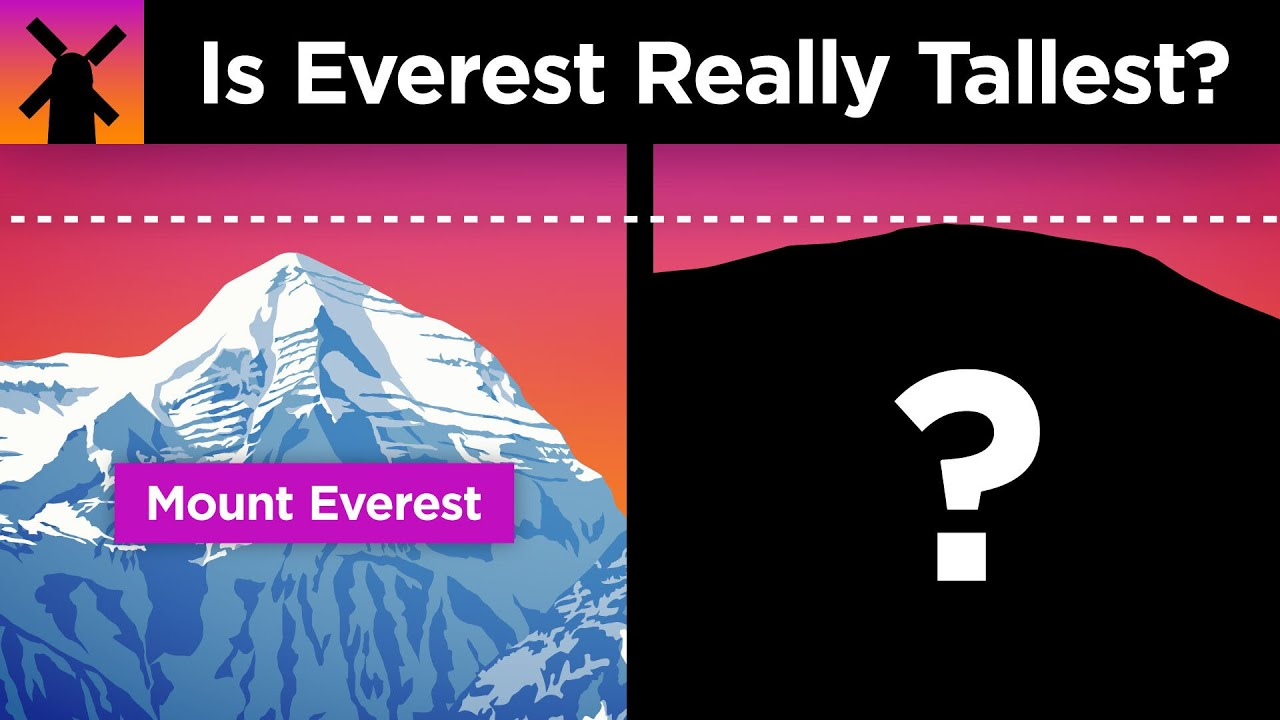 Why Everest Isn't Earth's Highest Mountain… sorta
