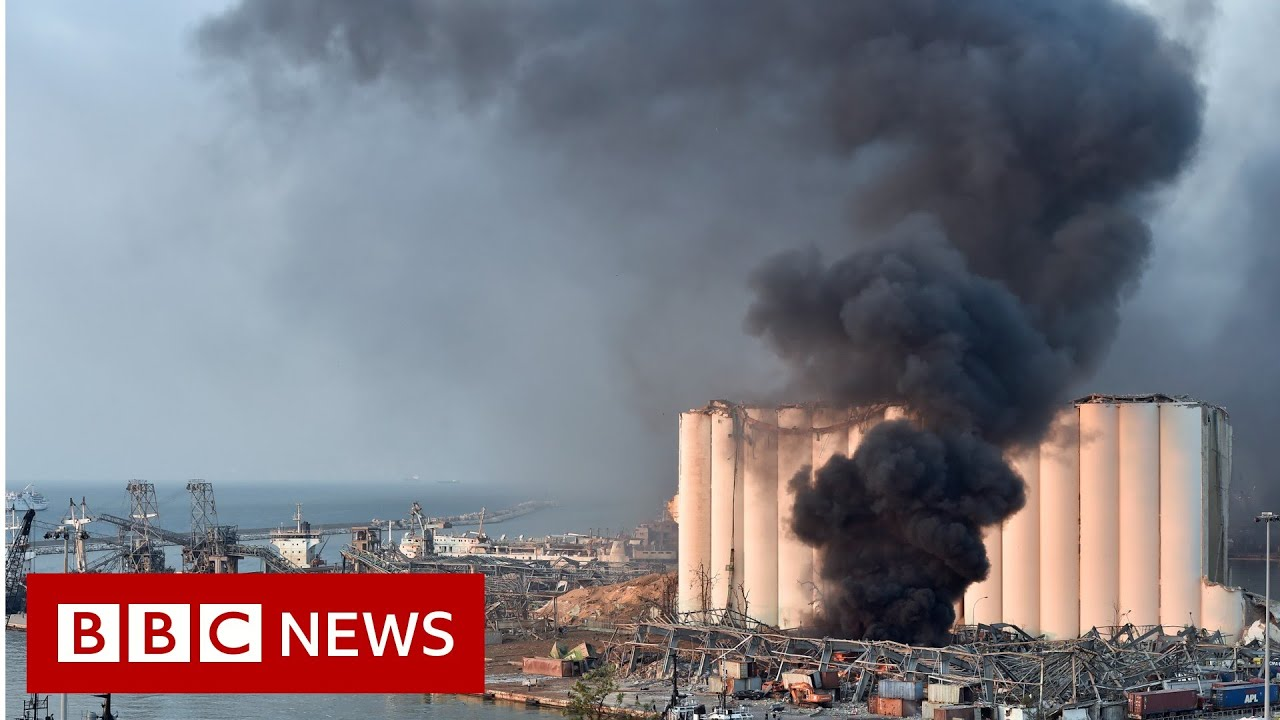 Widespread damage after huge explosion in Beirut – BBC News