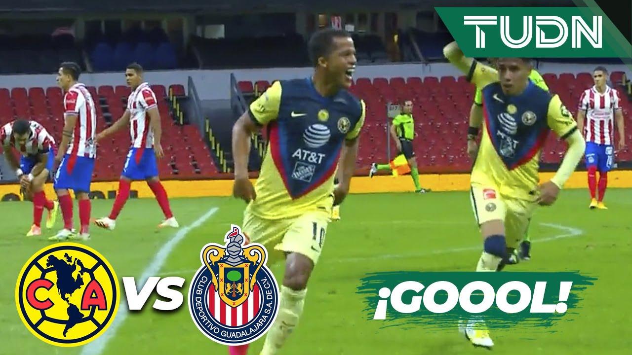 ¡ULTRA GOLAZO! ¡Golazo de Gio! | América 1-0 Chivas | Guard1anes 2020 Liga BBVA MX – J11 | TUDN