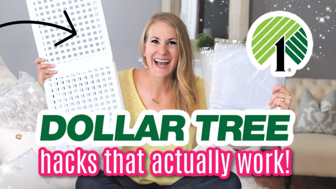 10 DOLLAR TREE HACKS THAT ACTUALLY WORK! (not Pinterest junk!)