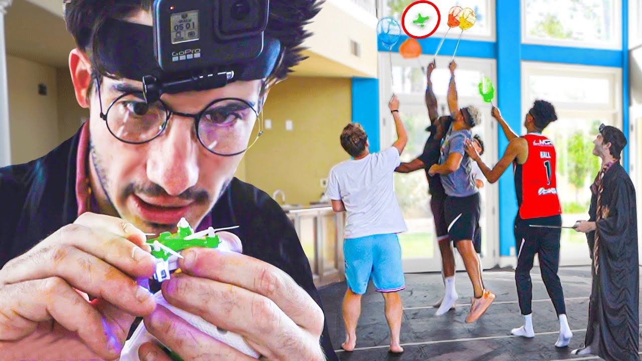 2HYPE Tries To Catch Worlds Smallest Drone!!