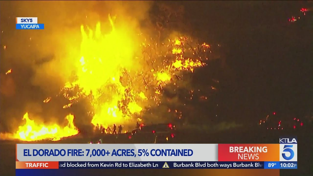 7,000-acre El Dorado Fire was sparked at gender reveal party in Yucaipa: Cal Fire
