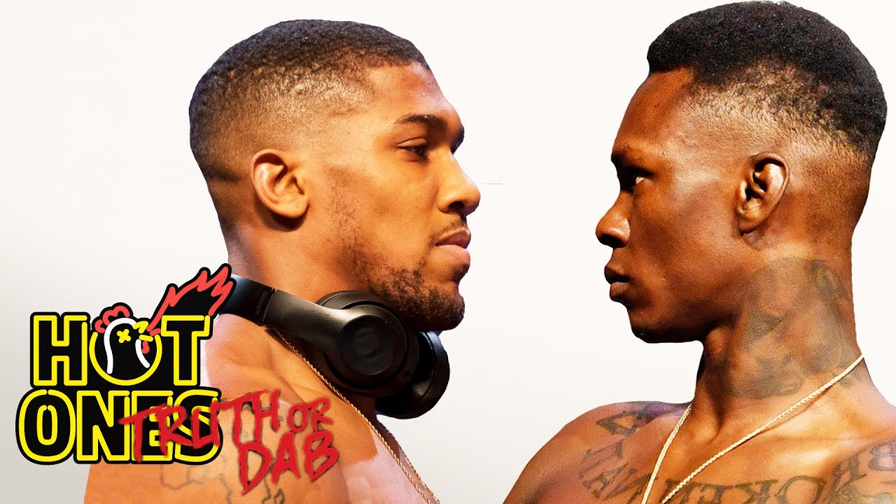 Anthony Joshua and Israel Adesanya Play Truth or Dab | Hot Ones