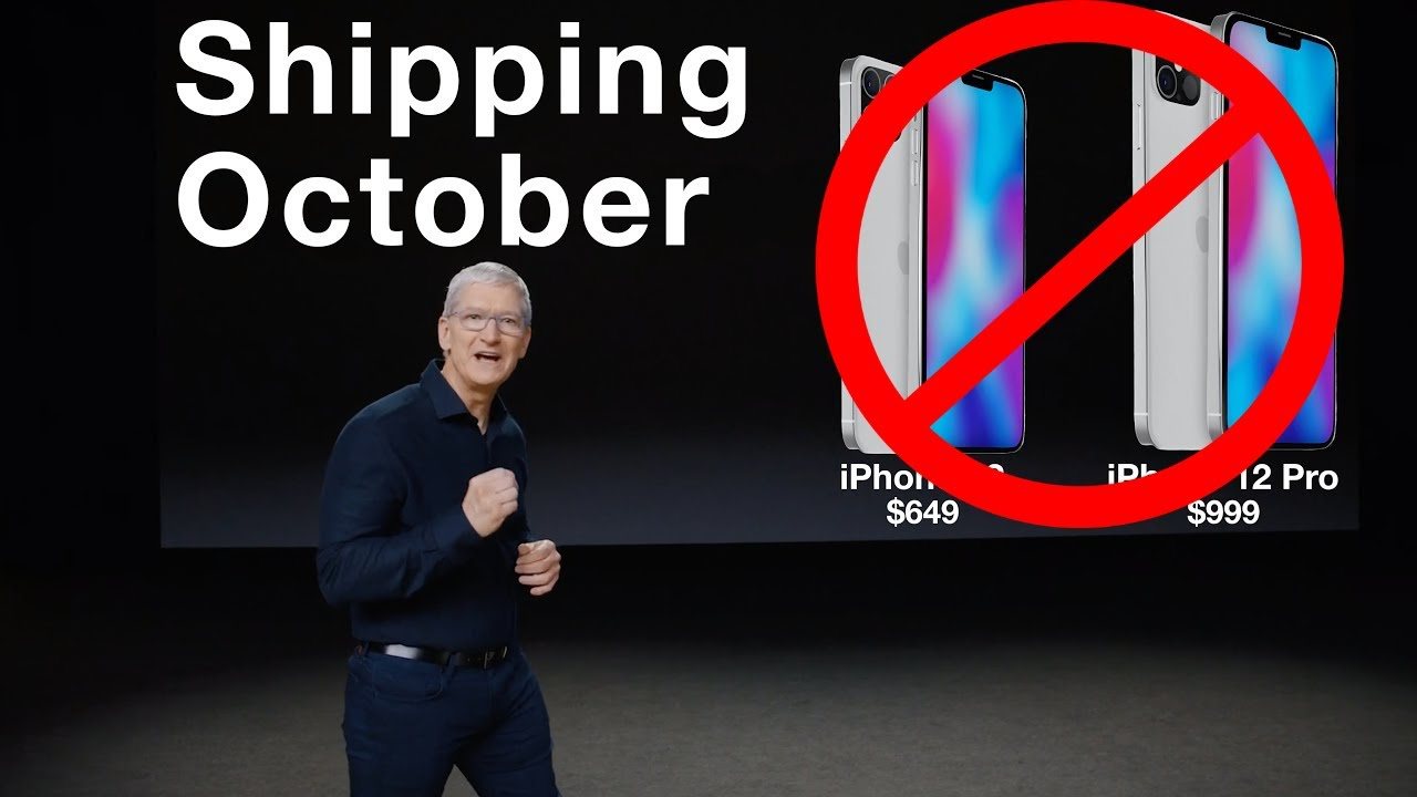 Apple September 15 Event Confirmed – NO iPhone 12!