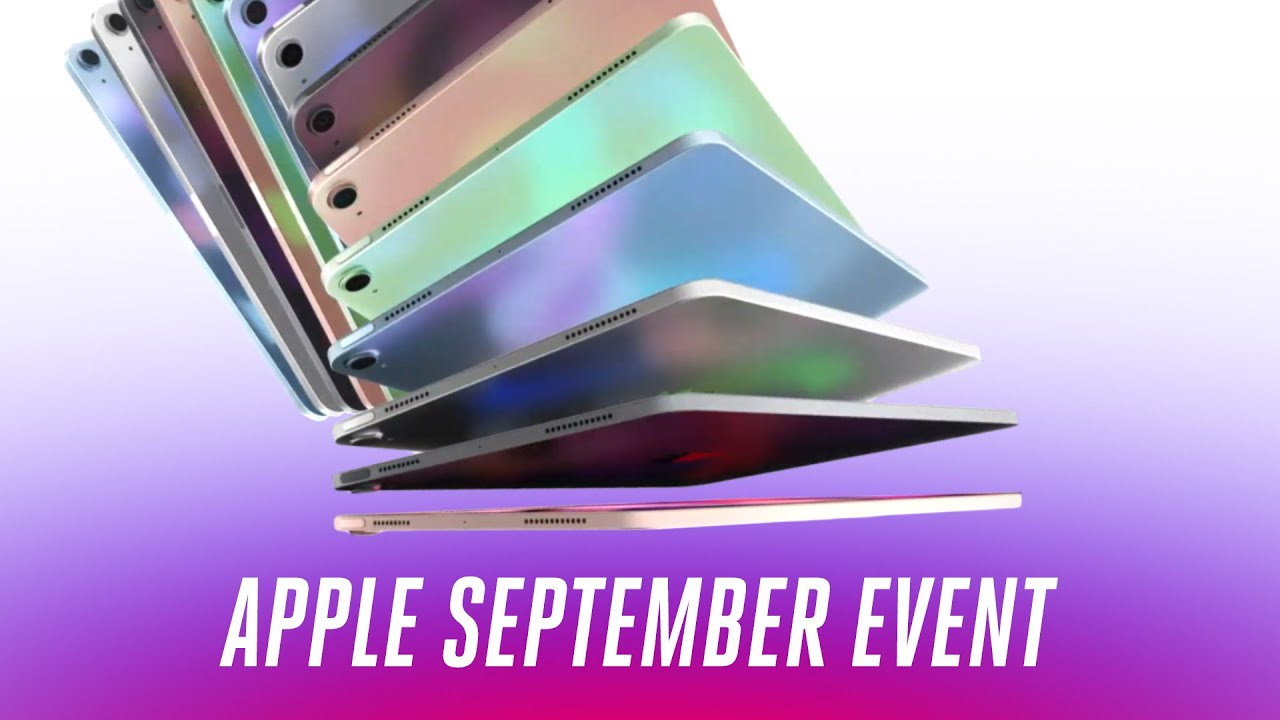 Apple September 2020 event in 12 minutes