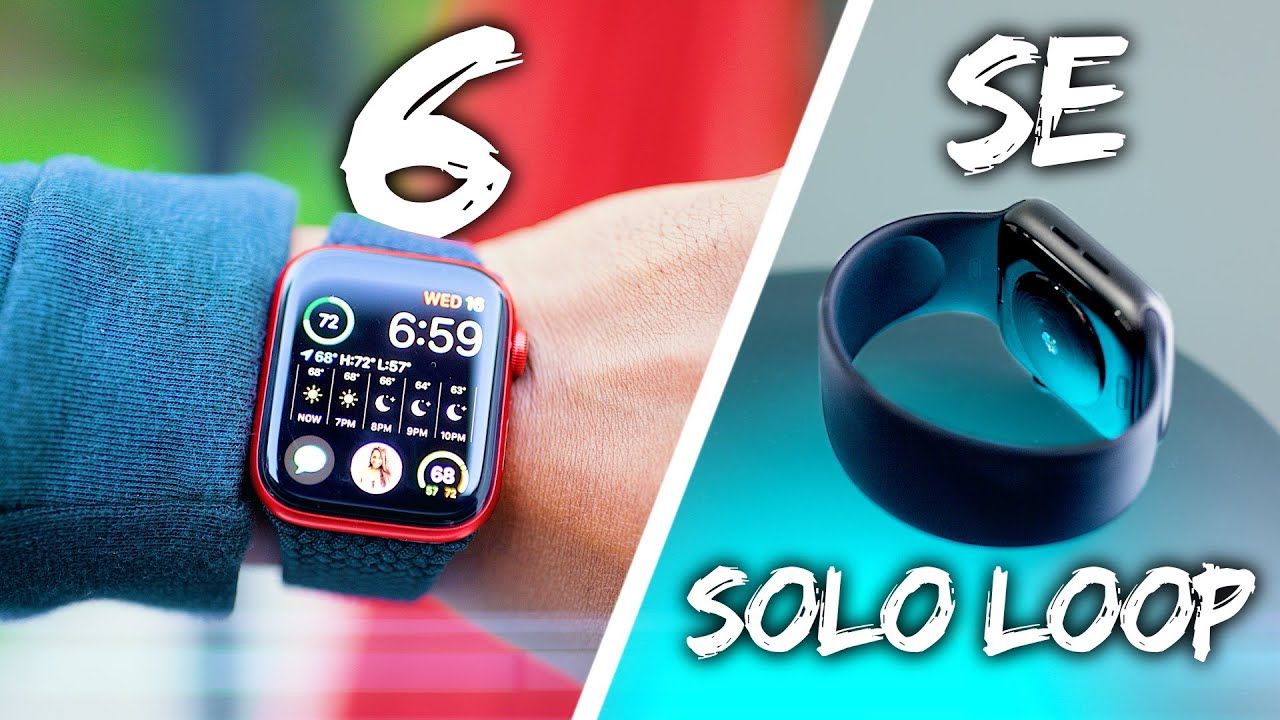 Apple Watch Series 6 & SE – Unboxing & Hands On!