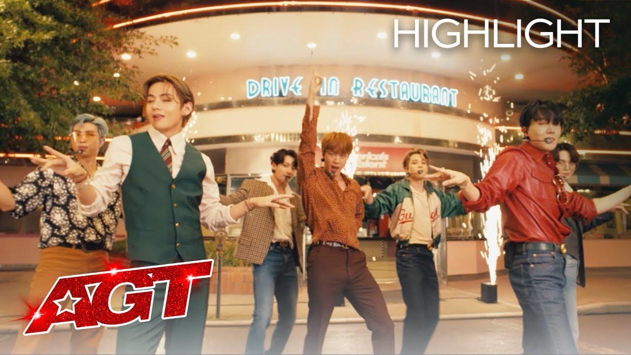 "BTS Performs ""Dynamite"" on AGT – America's Got Talent 2020"