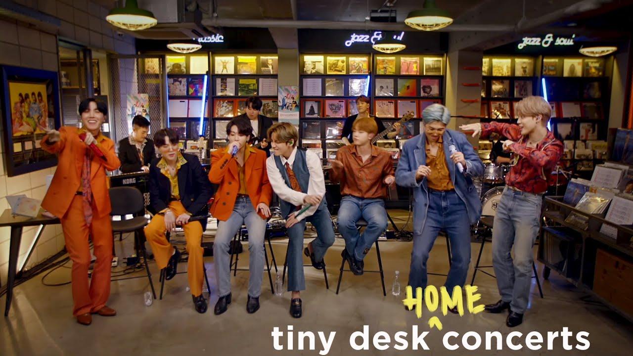 BTS: Tiny Desk (Home) Concert