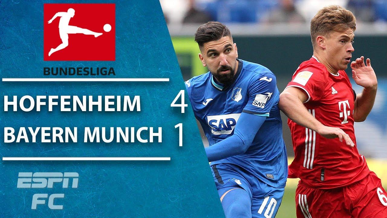 Bayern Munich highlights: TSG Hoffenheim STUN the European Champions | Bundesliga highlights