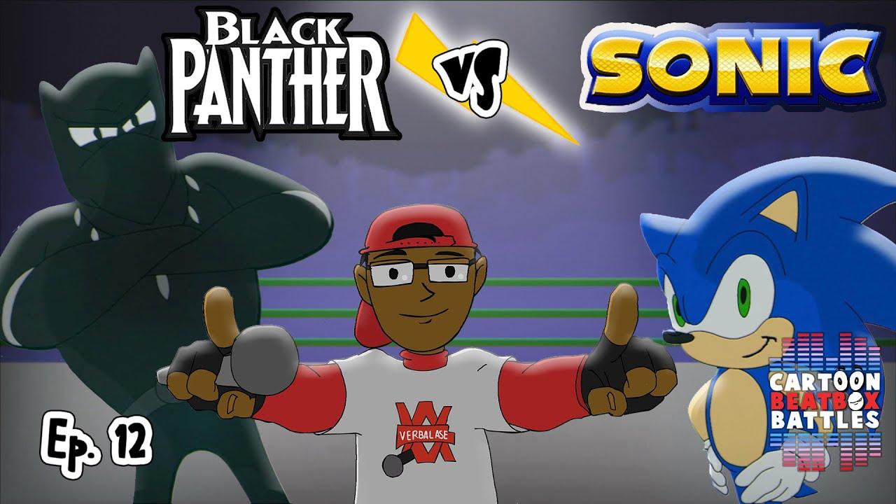 Black Panther Vs Sonic – Cartoon Beatbox Battles