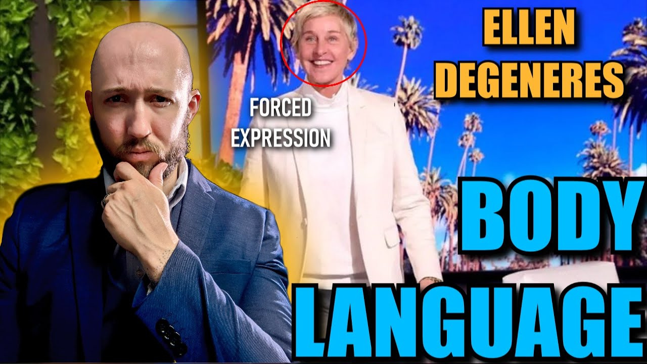 Body Language Analyst REACTS to Ellen Degeneres' INSINCERE Apology Faces Episode 17