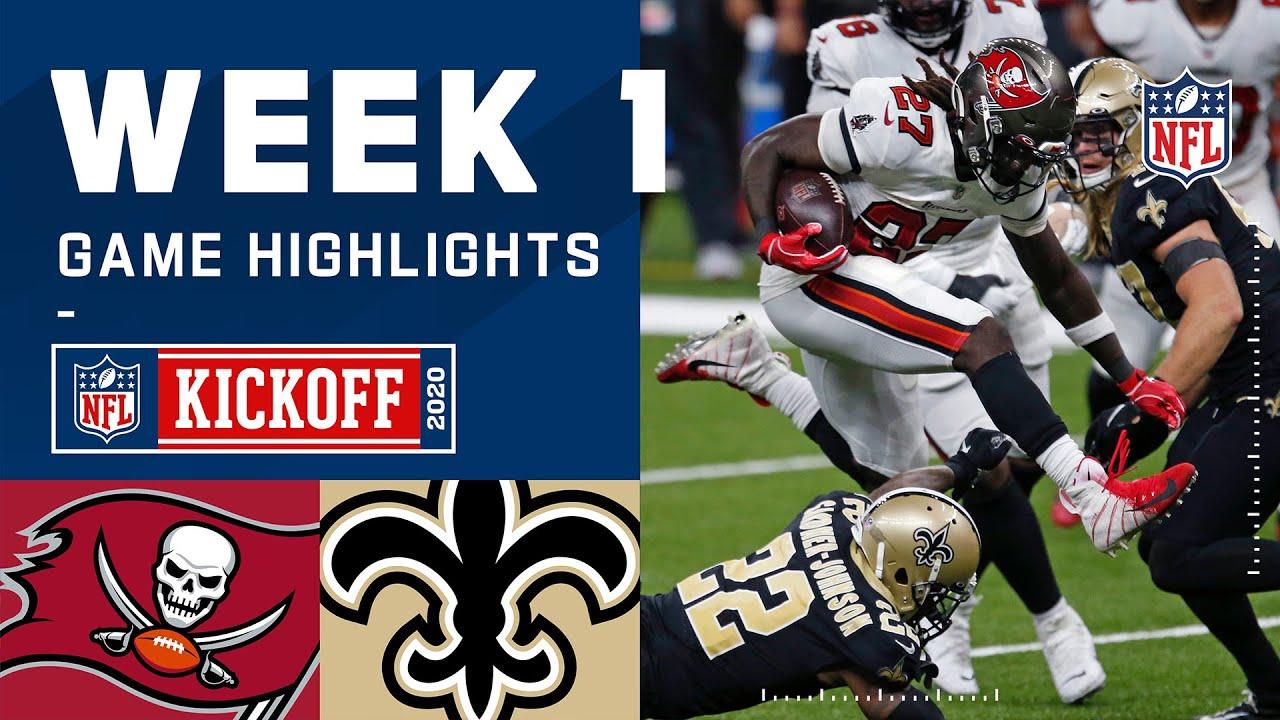 Buccaneers vs. Saints Week 1 Highlights | NFL 2020