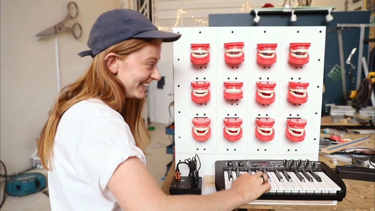 Building a Musical Instrument Out Of Teeth