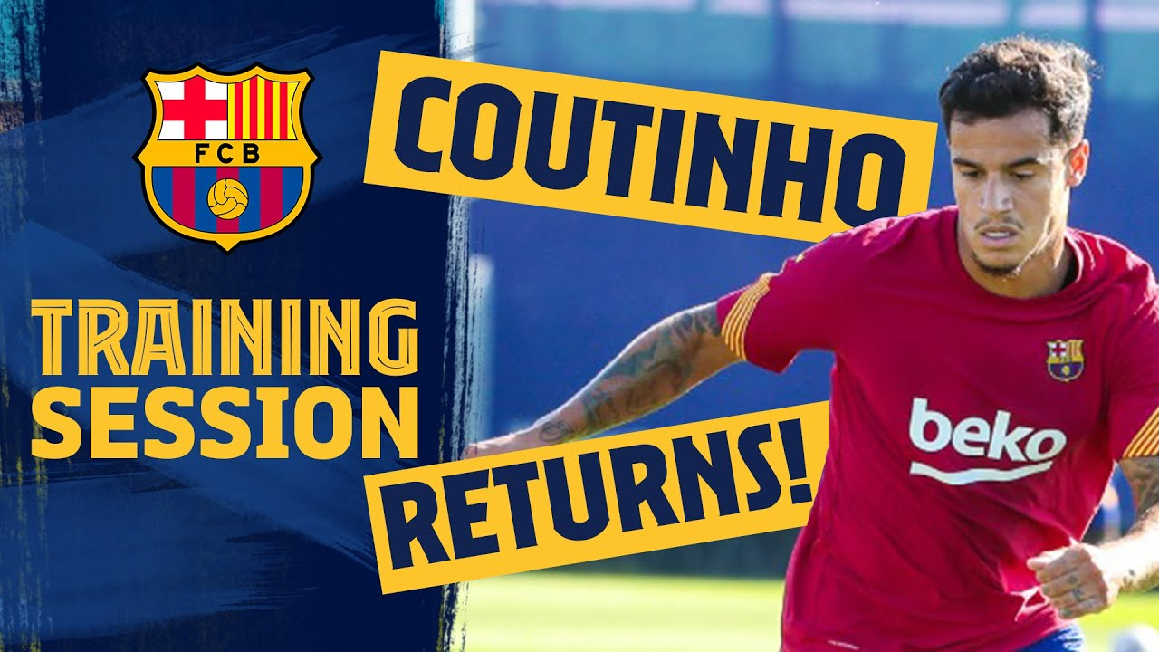 ? COUTINHO IS BACK!! New season prep continues!! ?️