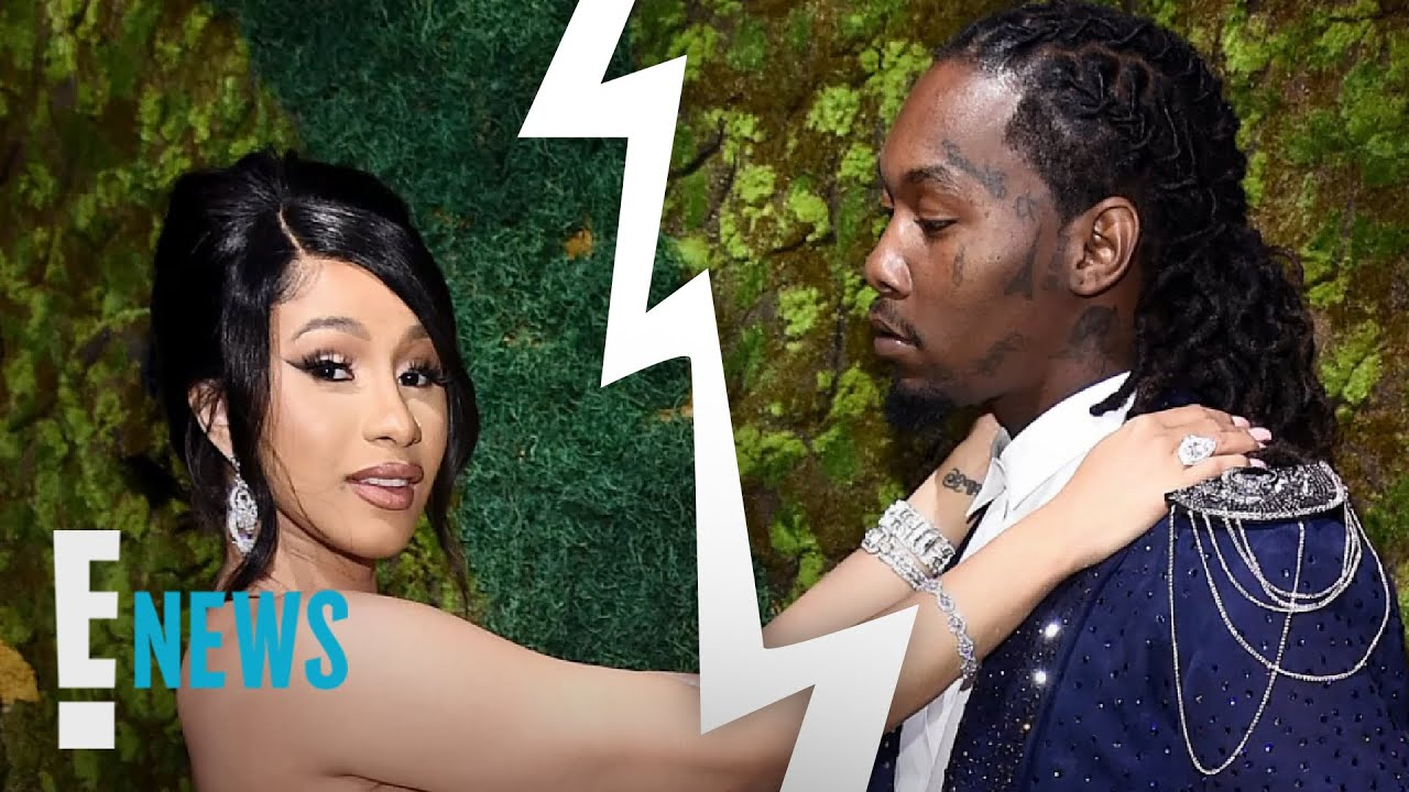 Cardi B Files for Divorce From Offset After 3 Years | E! News