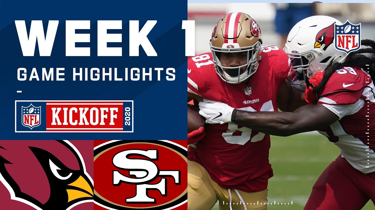 Cardinals vs. 49ers Week 1 Highlights | NFL 2020