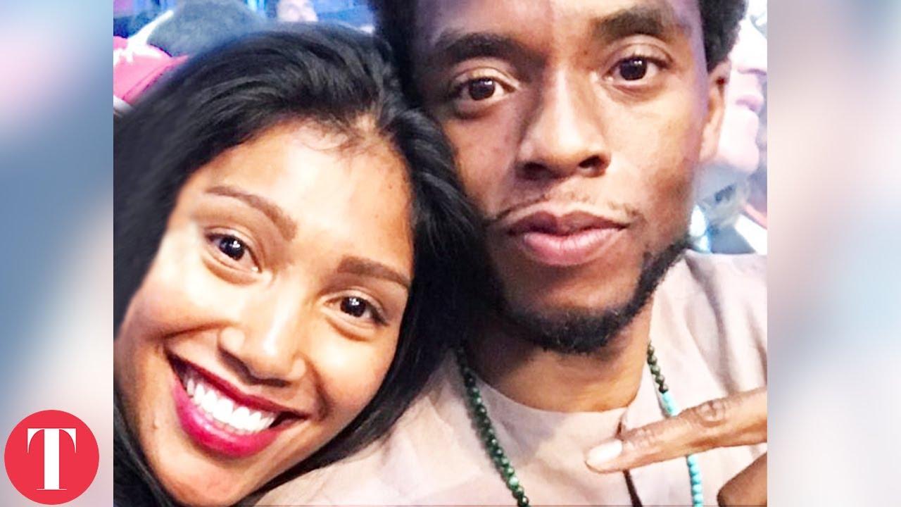 Chadwick Boseman And Wife Taylor Simone Ledward's Love Story