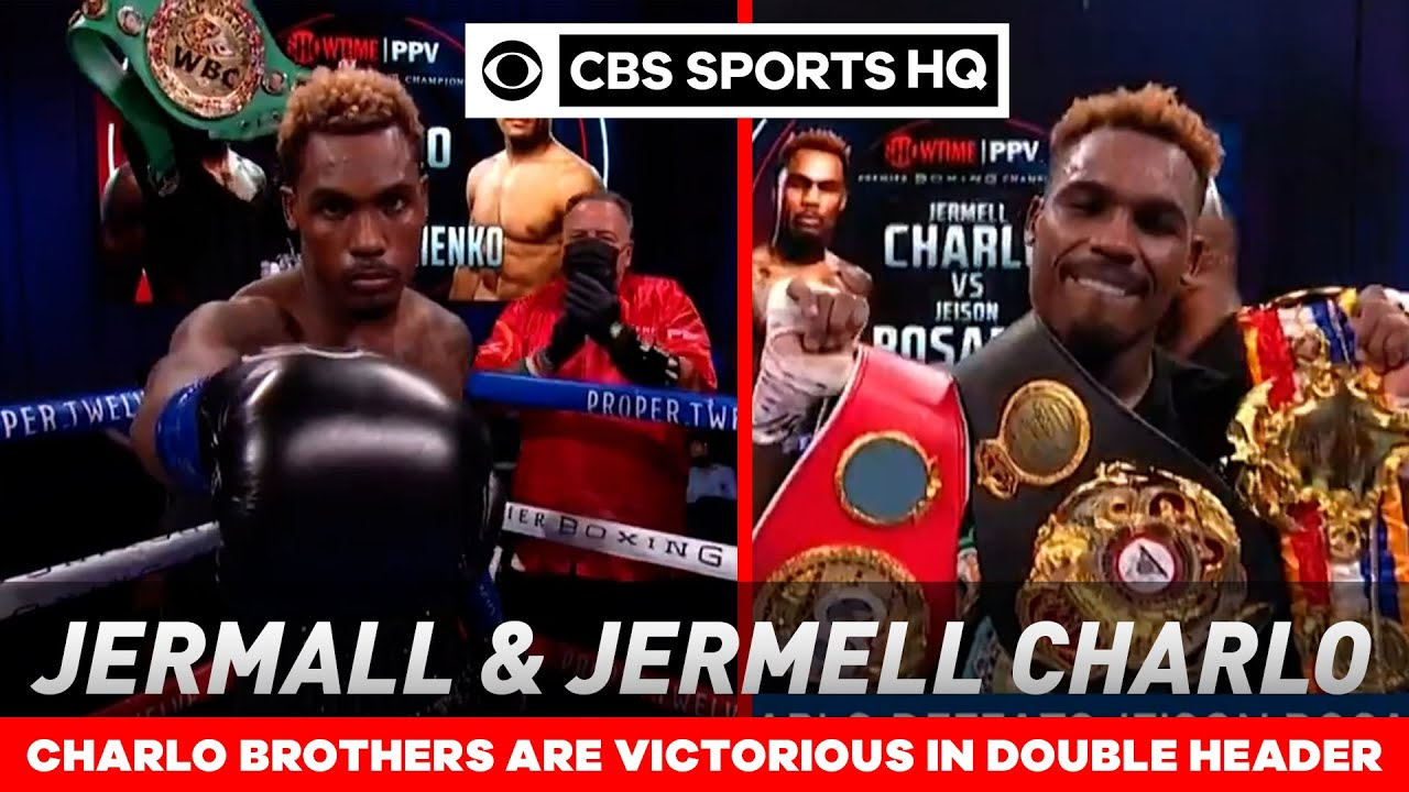 Charlo brothers fight recaps: Jermell and Jermall succeed in first PPV main events | CBS Sports HQ