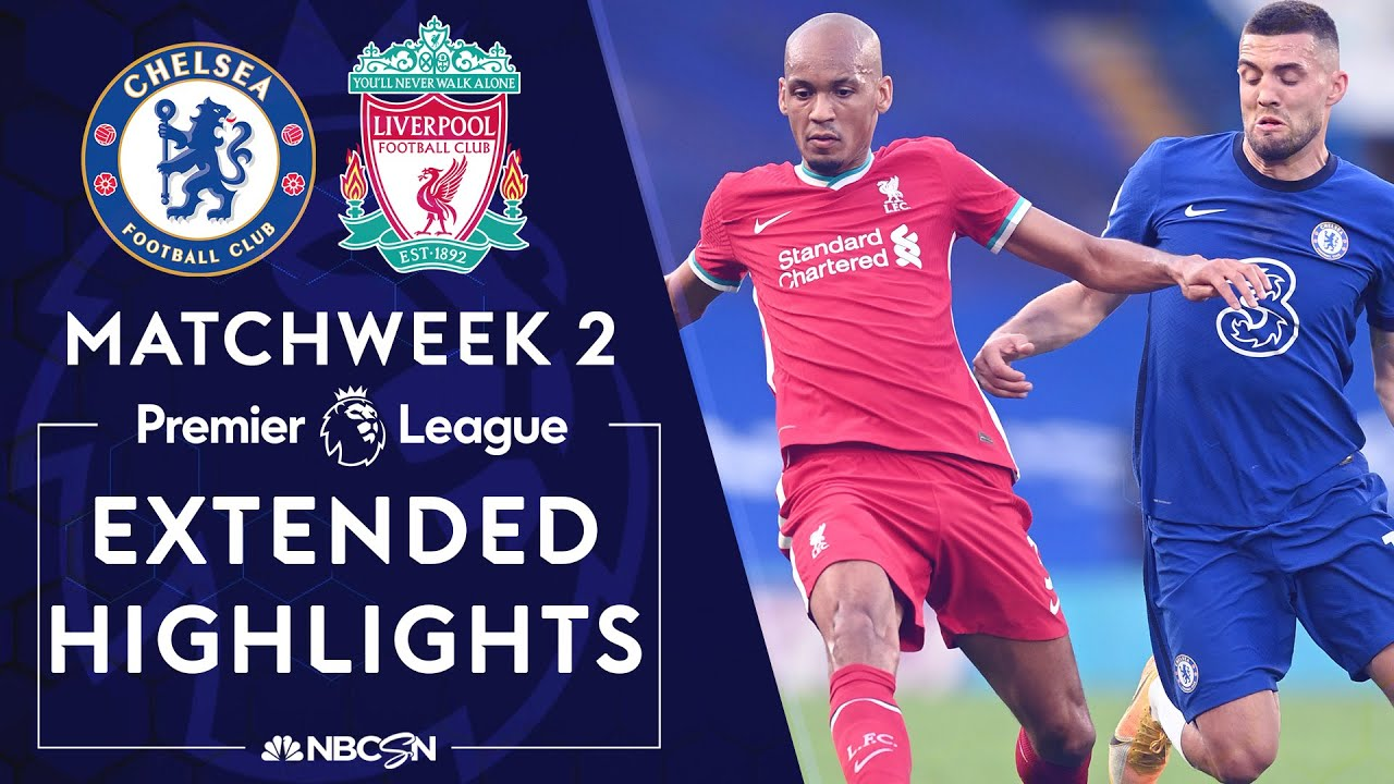 Chelsea v. Liverpool | PREMIER LEAGUE HIGHLIGHTS | 9/20/2020 | NBC Sports