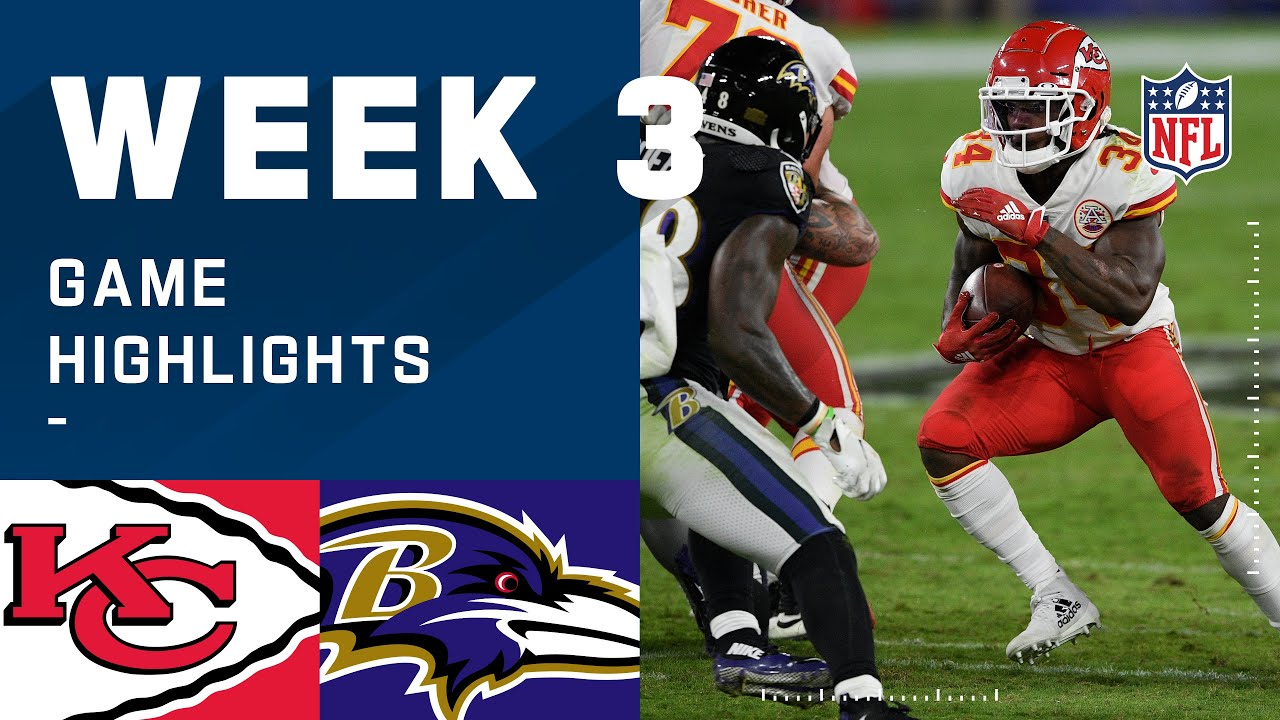 Chiefs vs. Ravens Week 3 Highlights | NFL 2020