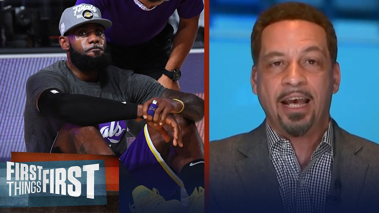 Chris Broussard talks Lakers on to NBA Finals after series win, LeBron mindset | FIRST THINGS FIRST