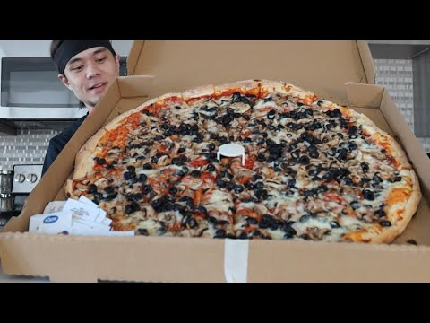 DESTROYING my 1st YouTube  Food Challenge (New Record??)