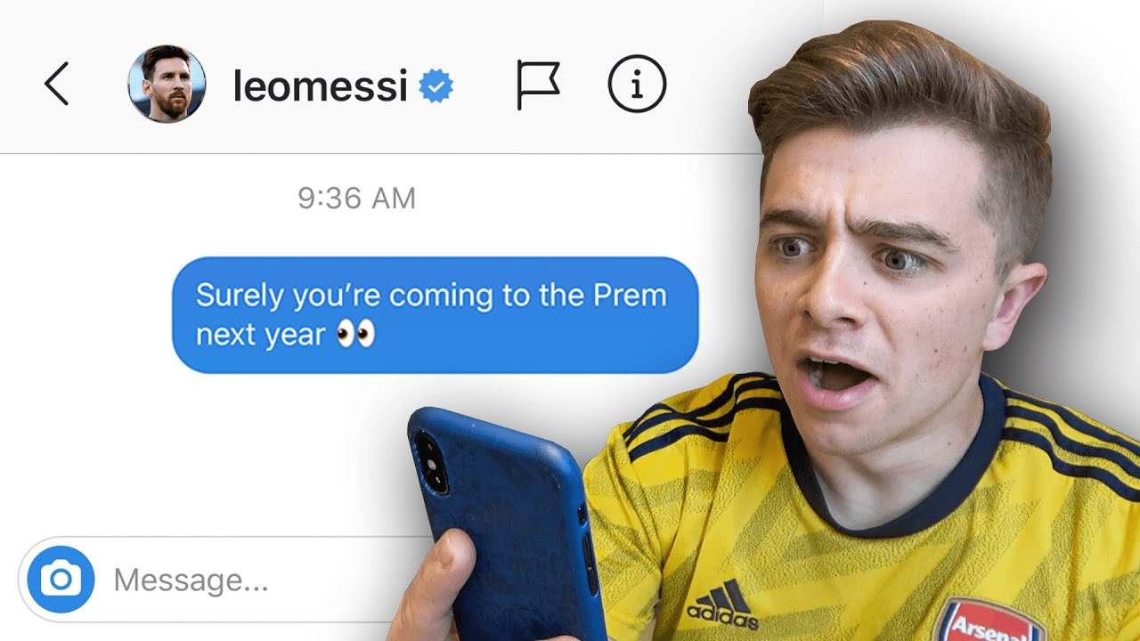 DM'ing 100 Footballers To See Who Would Reply (IT WORKED)