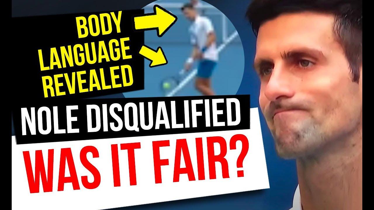 Djokovic hits line judge but body language tells the TRUTH: