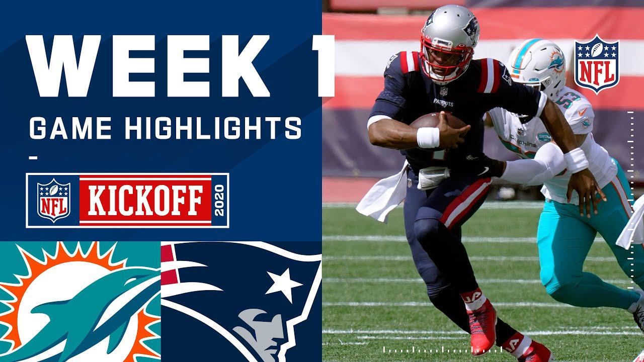 Dolphins vs. Patriots Week 1 Highlights | NFL 2020