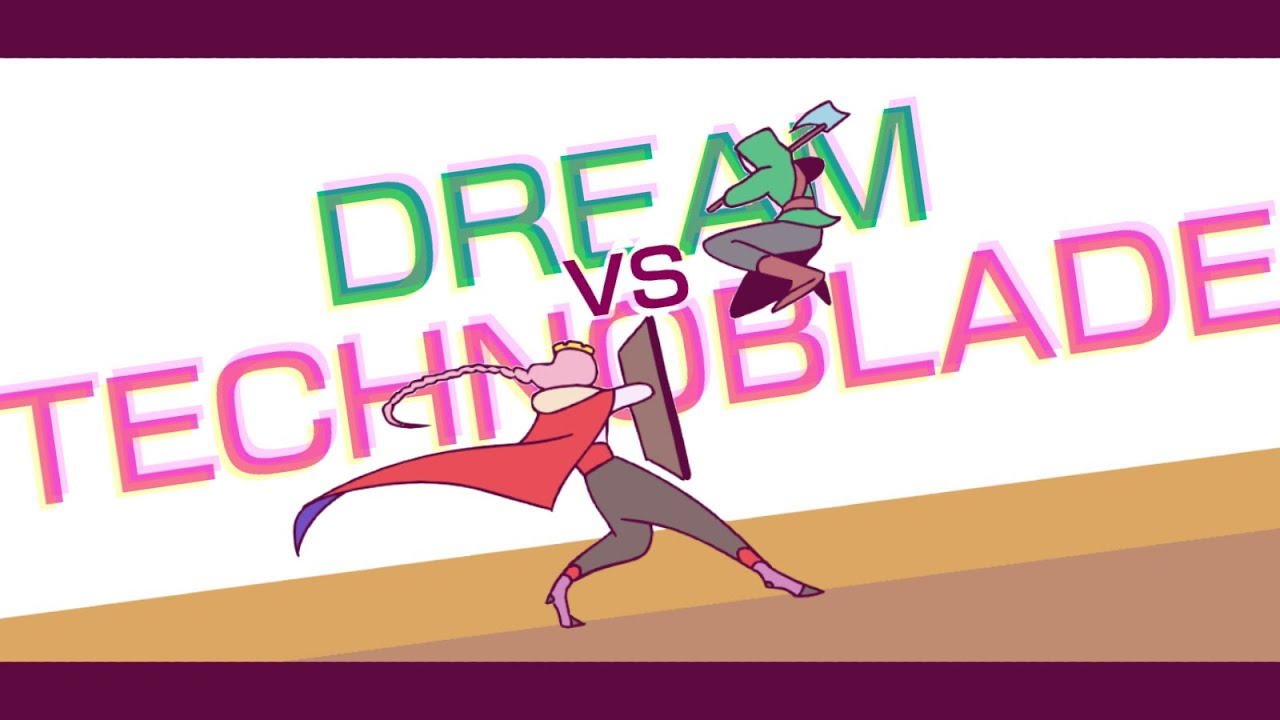 Dream vs Technoblade Animation