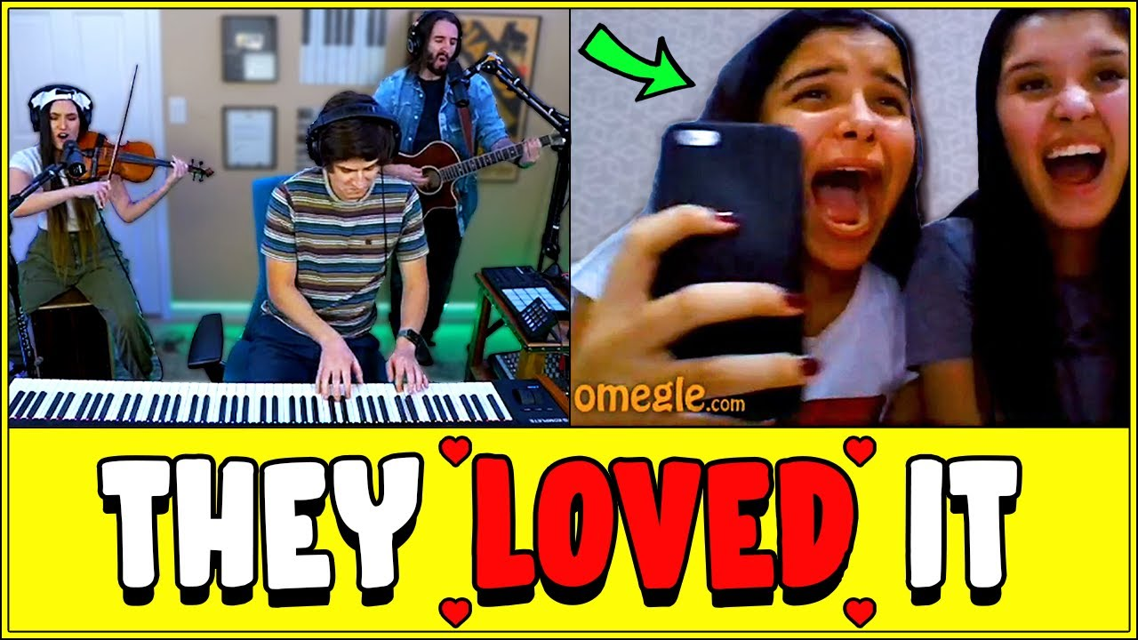 EPIC Musical Trio Goes on Omegle