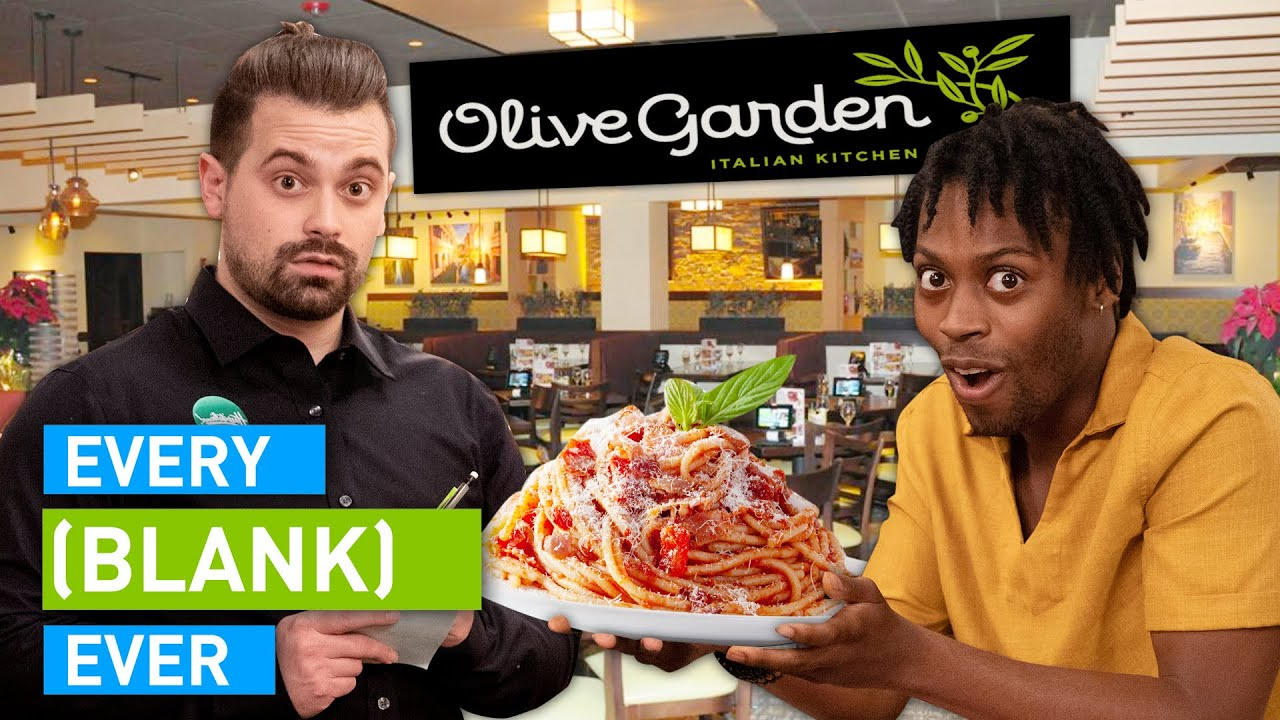Every Olive Garden Ever
