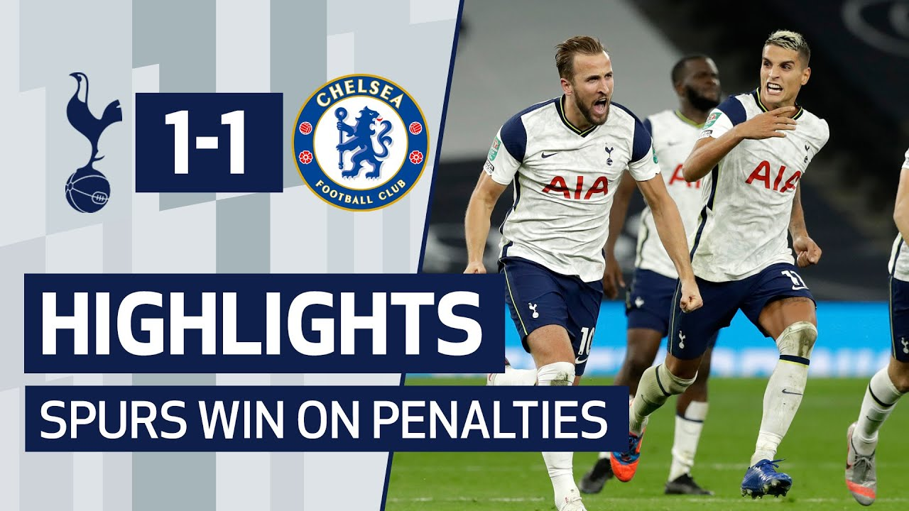 HIGHLIGHTS | SPURS 1-1 CHELSEA | SPURS WIN ON PENALTIES!