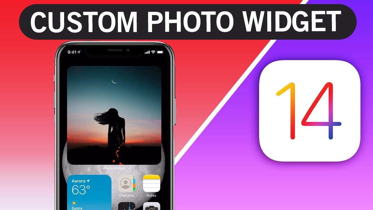How to add custom photo Widget on iOS 14